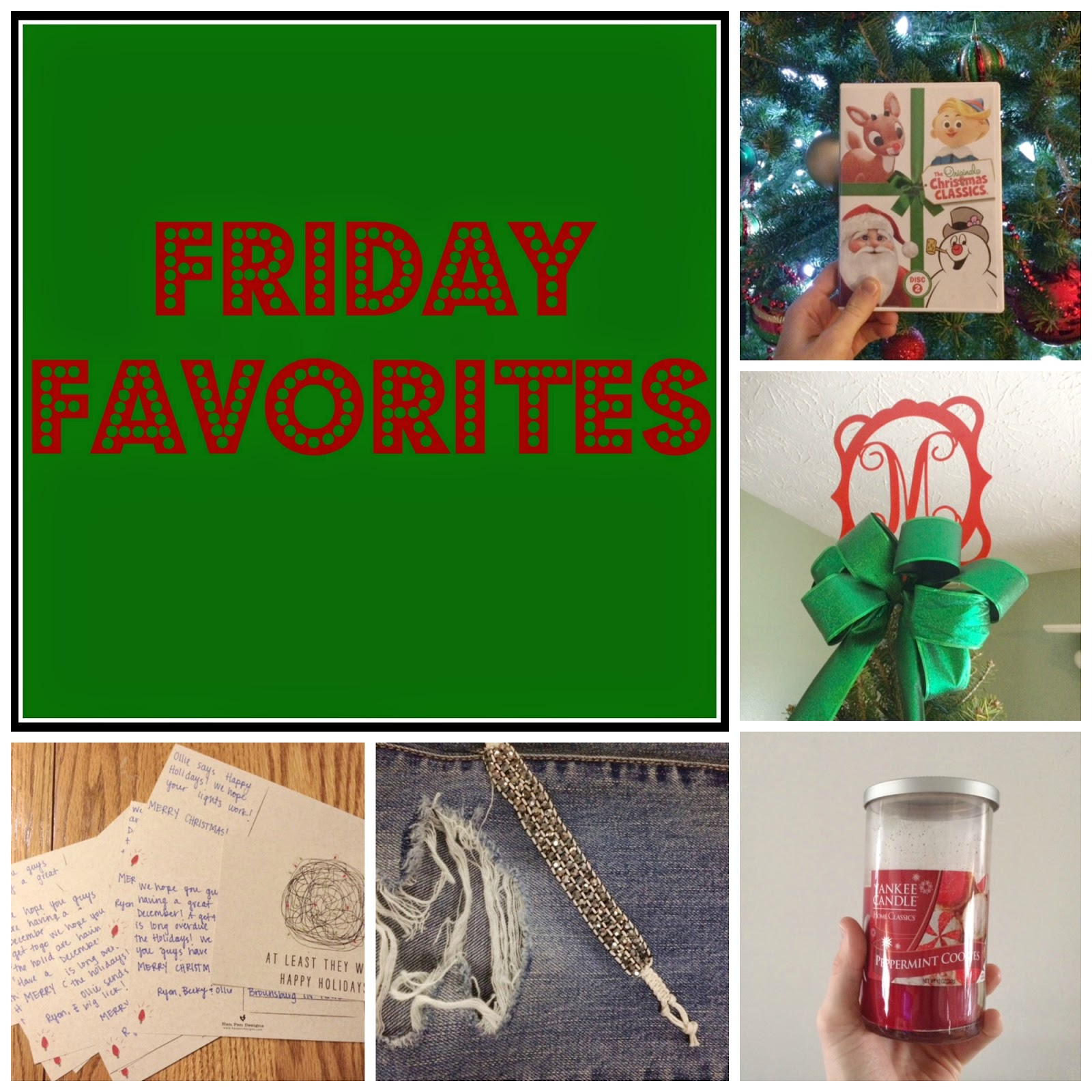 Christmas Friday Favorites