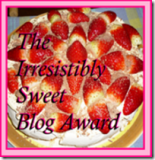 blog award from aly