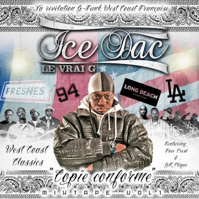 Ice Dac - Copie Conforme Mixtape Vol. 1 (2015)