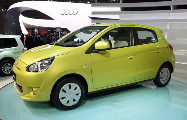 wallpaper mitsubishi mirage 2013