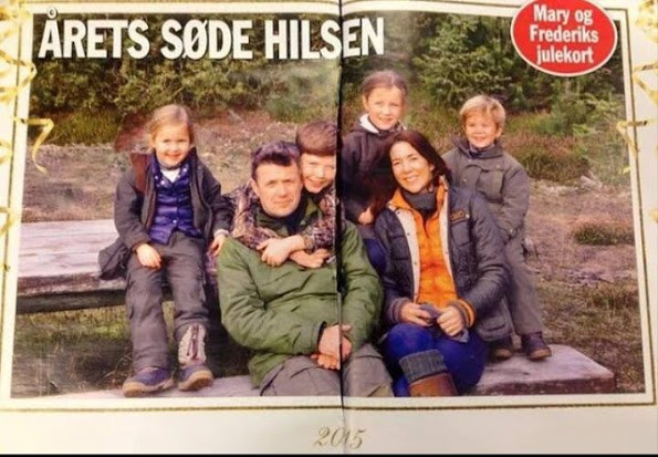 Danish Crown Prince Family, 2015 Christmas Card