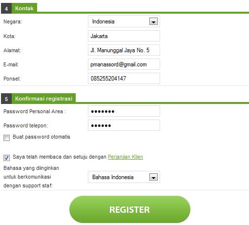 Daftar forex online indonesia