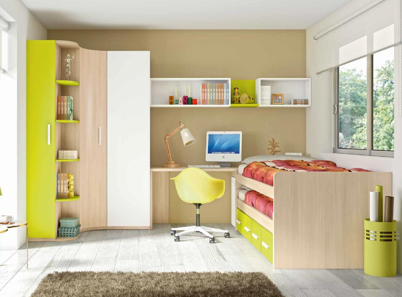 Dormitorios juveniles b sic de glicerio chaves mobles - Ver dormitorios juveniles ...