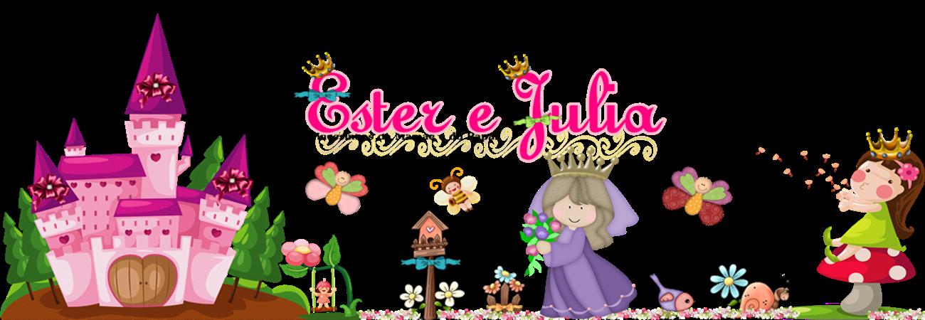 Anjinhas eternas Ester e Julia