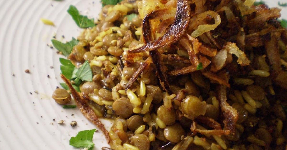 Mejadra (from Jerusalem: A Cookbook)