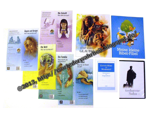 Neue Publikationen Jehovas Zeugen 2013