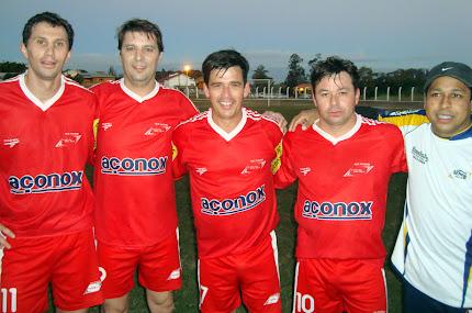Os goleadoras do jogo