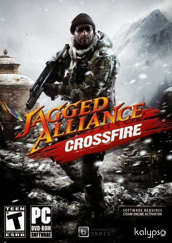Jagged Alliance Crossfire Game