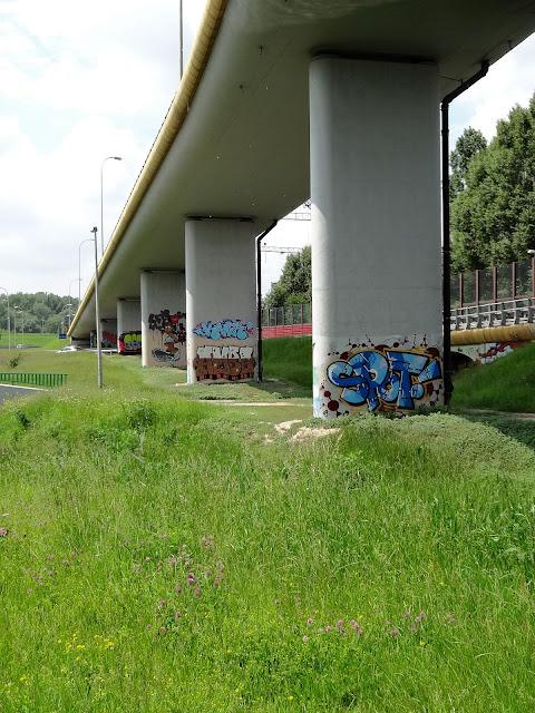 Murale mostu Siekierkowskiego