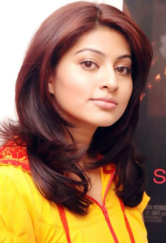 Sneha Latest Pics in Short Hair & Yellow Top