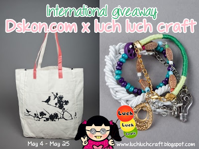Eco bag and Sativa bracelet Giveaway