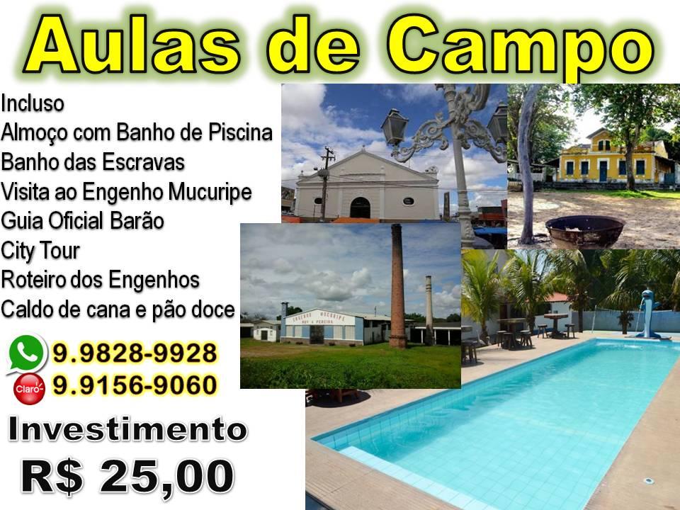 AULAS DE CAMPO - CEARÁ- MIRIM