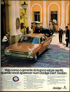 propaganda Dodge Dart Sedan - 1972, brazilian advertising cars in the 70s; os anos 70; história da década de 70; Brazil in the 70s; propaganda carros anos 70; Oswaldo Hernandez;.
