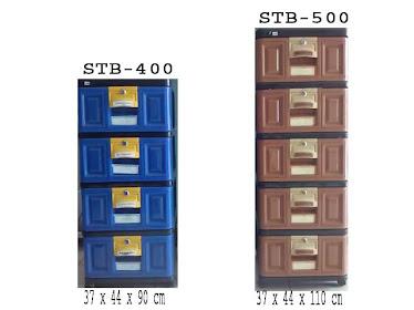 Laci STB 400 (susun 4) Rp. 135.000,-, STB 500 (Susun 5) Rp. 155.000,-