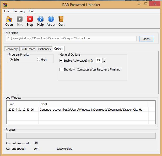Cara Membuka File Winrar Yang di Password