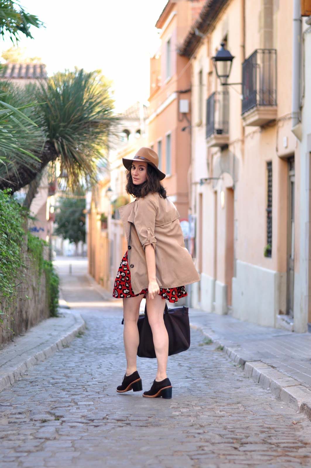 camel trench