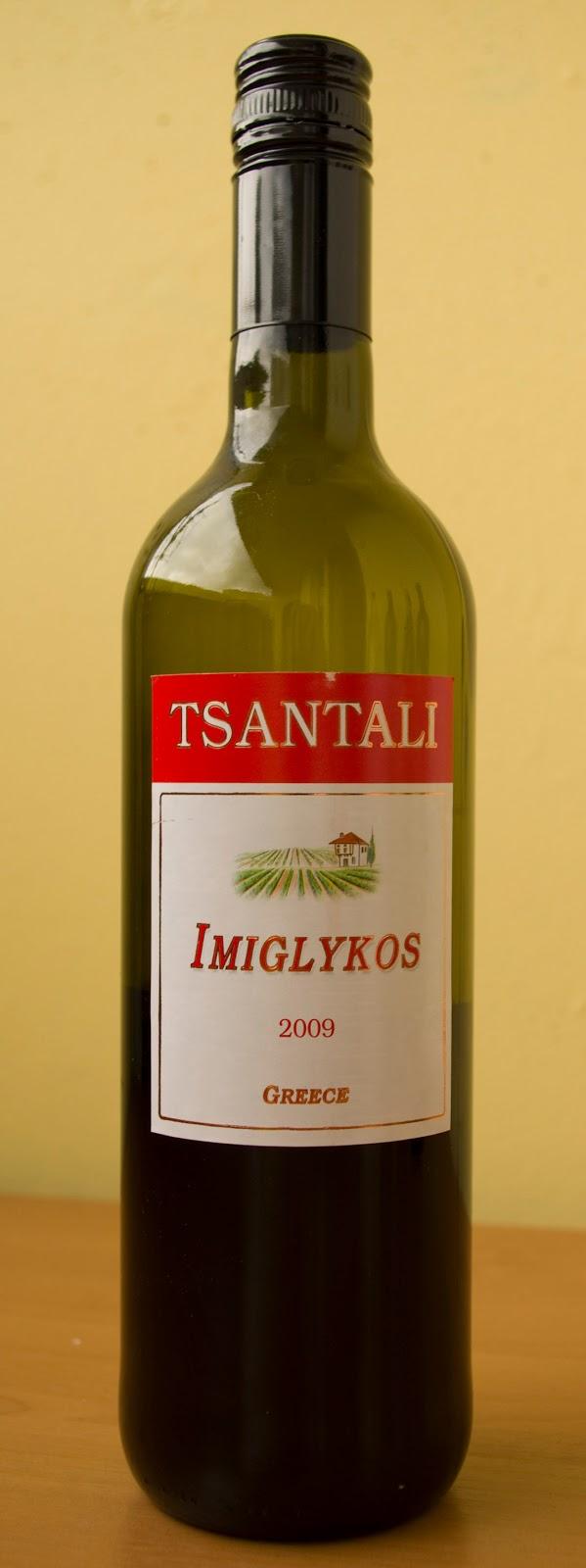wino półsłodkie z Grecji