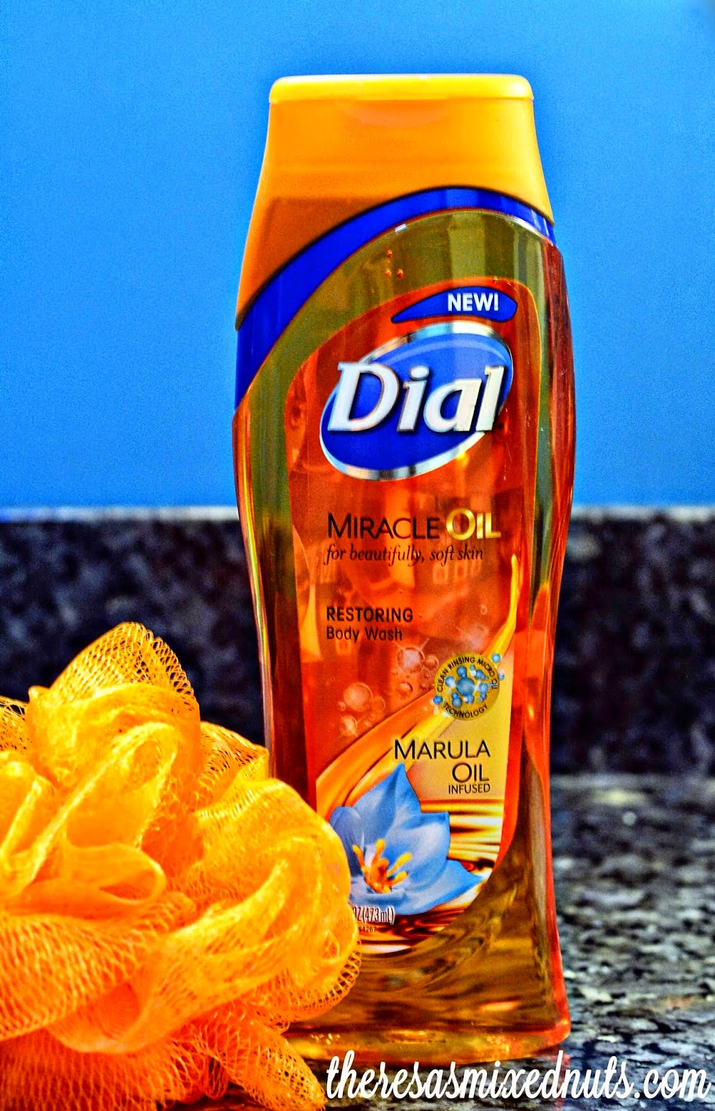 Enter to Win Dial Miracle Oil Body Wash