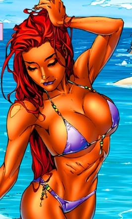 Duly answer Dc comics starfire sexy