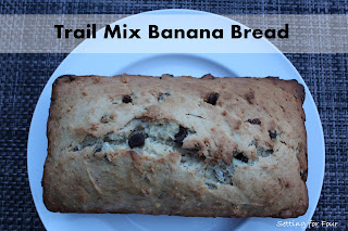 Trail Mix Banana Bread from Setting for Four