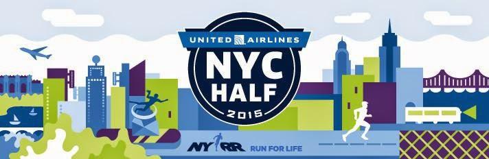NYC Half Marathon logo