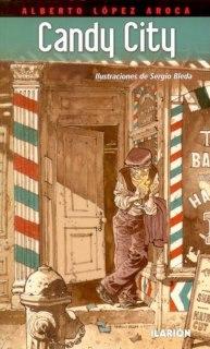 ¡NUEVO! Candy City, ilustrado por Sergio Bleda. 14 euros