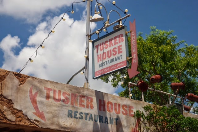 Tusker House Restaurant Sign Animal Kingdom Disney World