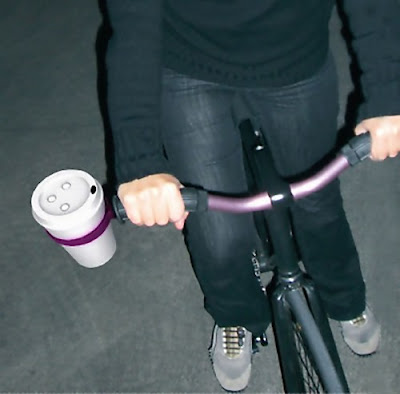 Smart Gadgets For Coffee On The Go - Ring-o-Star Coffee Cup Holder