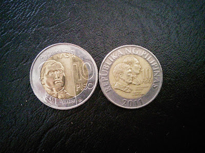 new 10 peso coin front