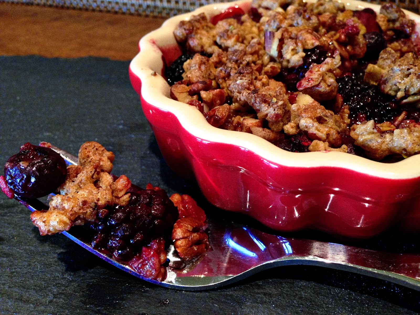 The Barnyard Bistro: Triple Berry Crisp - GAC Exclusive