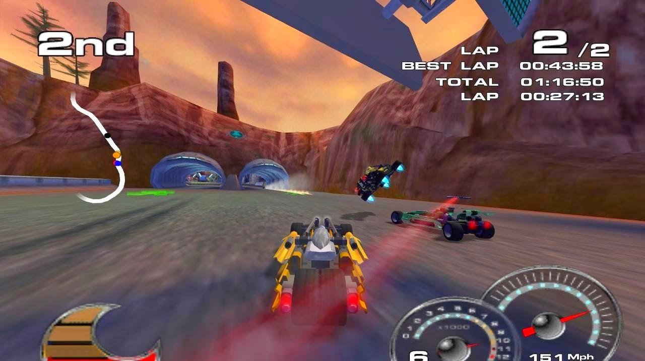 Drome Racers Gameplay