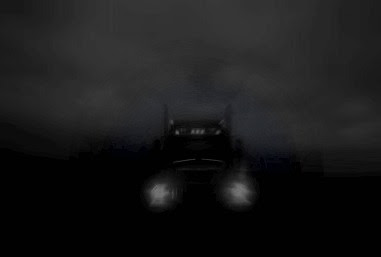 "A ghostly truck haunts ""Booger"" Mountain on the highway between Barbourville and Corbin, Kentucky."