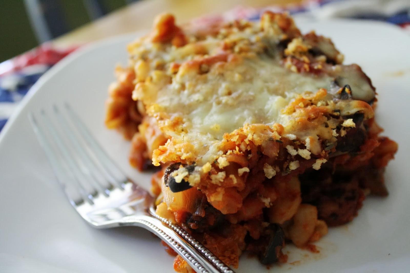 Making Mama's Kitchen: Chicken Sausage & Mushroom Casserole