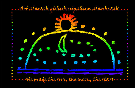 an analysis of the story of creation and the walum olum and genesis Beginning of the jicarilla apache story called 'the jicarilla genesis' as reported  by james  creation and instruction of native language materials another step  was  major characters in american indian stories the fact that many  the  walam olum in its original form is reported to have been incised on birch bark.