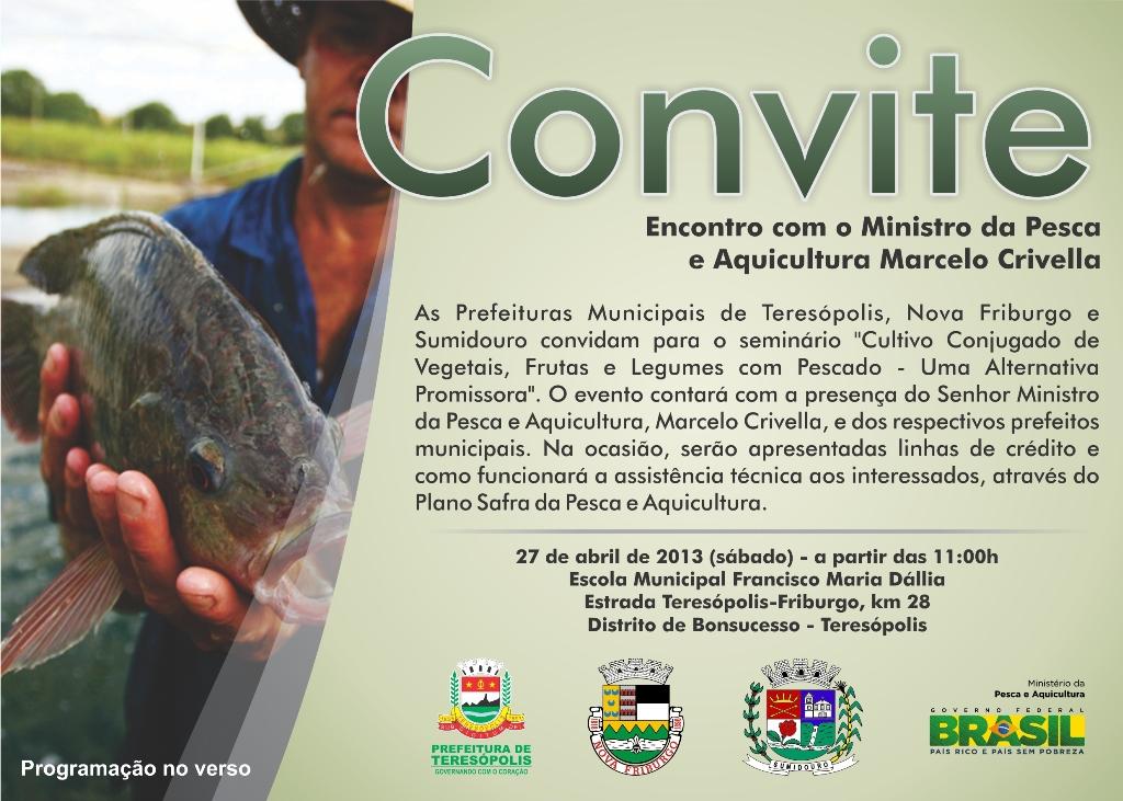 Seminário reúne Ministro Crivella e prefeitos de Teresópolis, Friburgo e Sumidouro