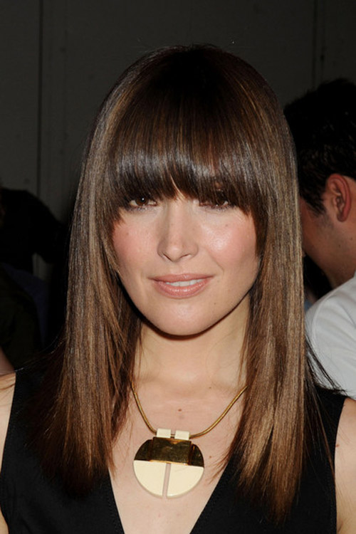 Byrne Hairstyle Rose Byrne On Board Celebrity Is One Of The Hair Style