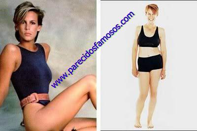 Jamie Lee Curtis antes y después