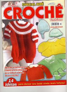 revista: Crochê tunisiano especial bebês