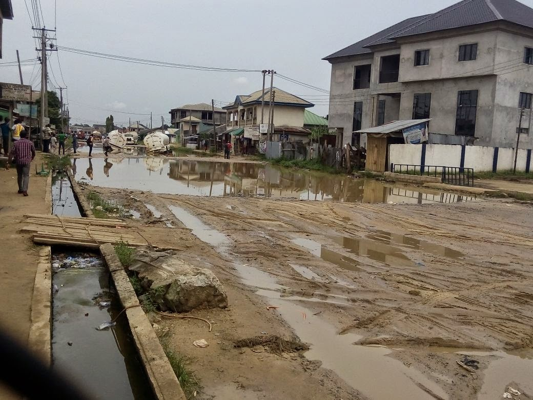 the deplorable road condition Residents, motorists decry deplorable condition of suleja-minna road  i hardly travel to abuja to visit my family because of the condition of the road between minna and suleja, she told.