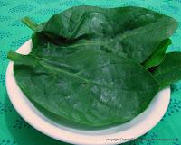 Kodi Pasalai keerai [ Spinach ]