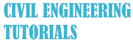 CIVIL ENGINEERING TUTORIALS