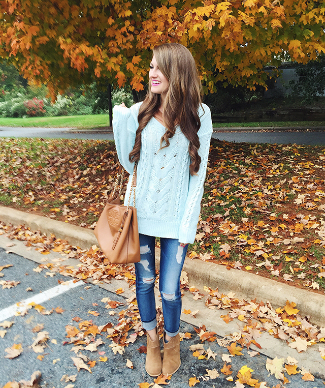 Carolina blue outfit