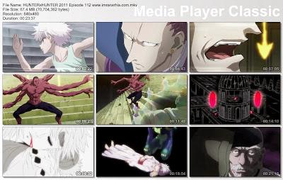 """Download Film / Anime Hunter x Hunter 2011 Episode 112 """"Monster dan Monster"""" Bahasa Indonesia"""