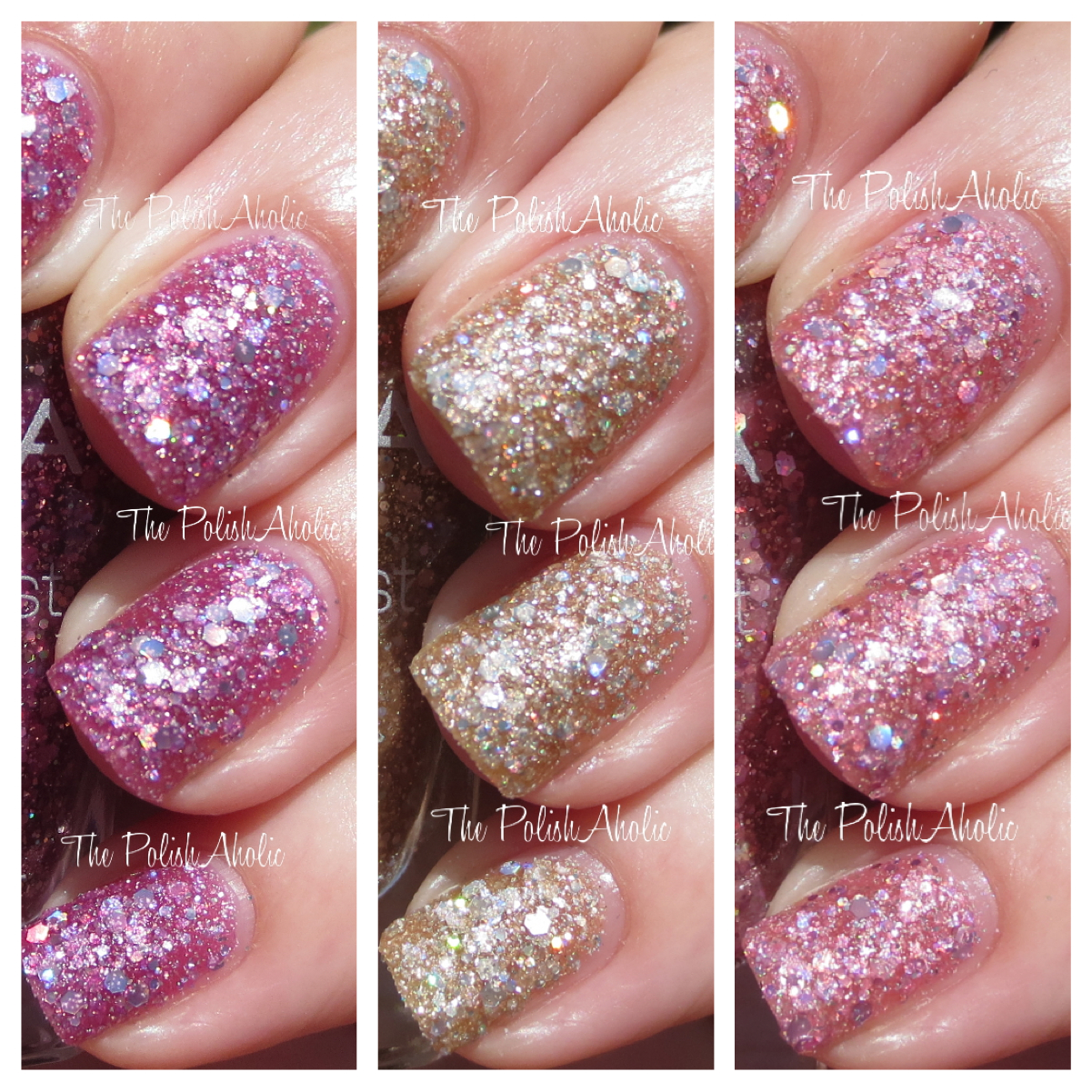 Zoya Summer 2014 Magical Pixie Collection Swatches Review