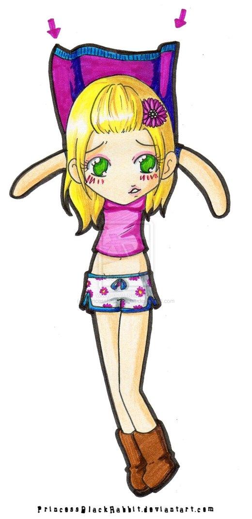 Penny paperchild por PrincessBlackRabbit