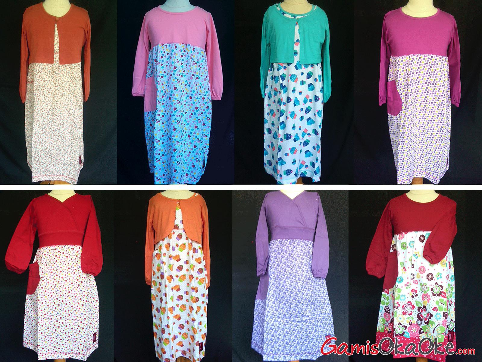 Baju Gamis Anak Murah Dan Berkualitas Produk Oka Oke