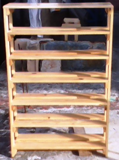 Carpinteria artesanal el madero detalles de los ultimos for Imagenes de zapateras de madera