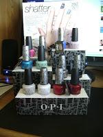 Le défi du lundi : rainbow nails!