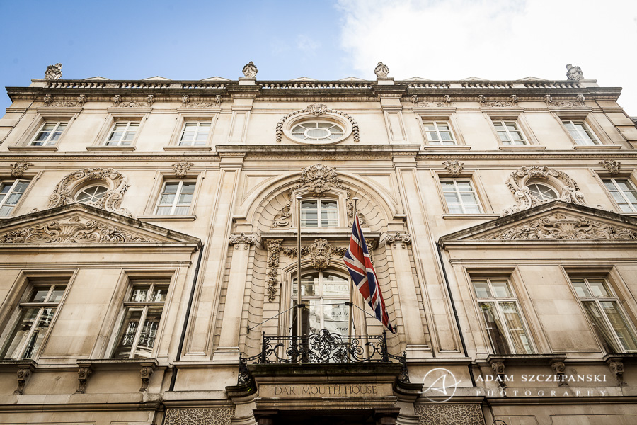 Dartmouth House Wedding Photography 1 London Wedding Photographer