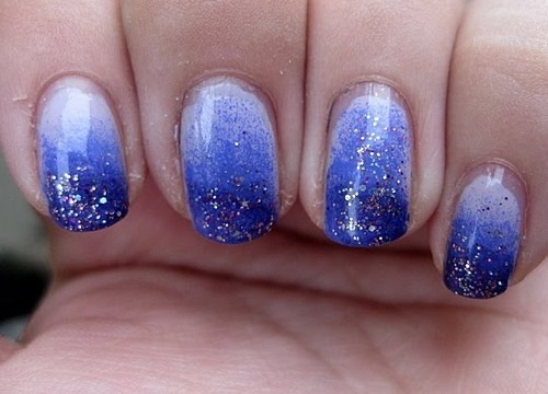 How To Gradient Nail Art College Gloss